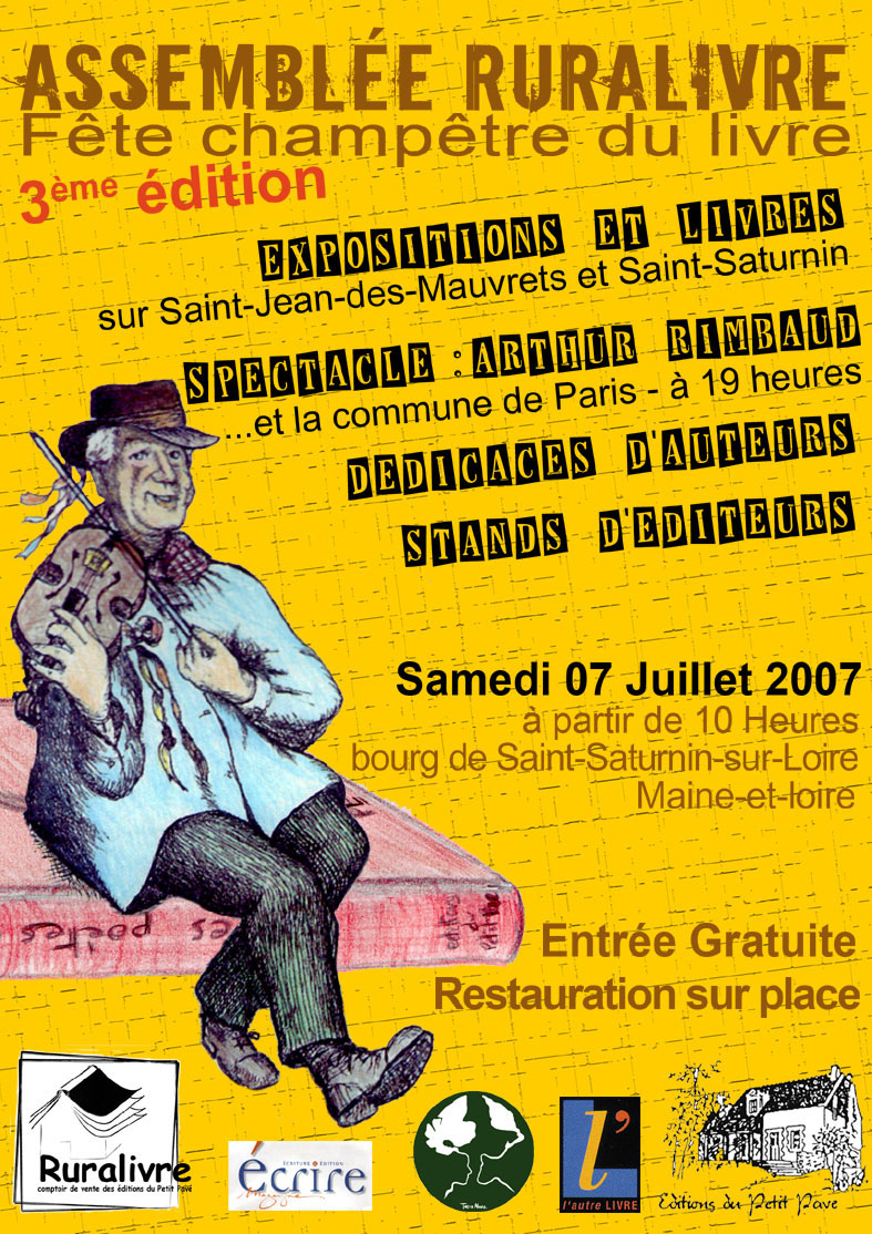Assembl�e Ruralivre : 3�me �dition - Photo affiche-ruralivre 2007.jpg