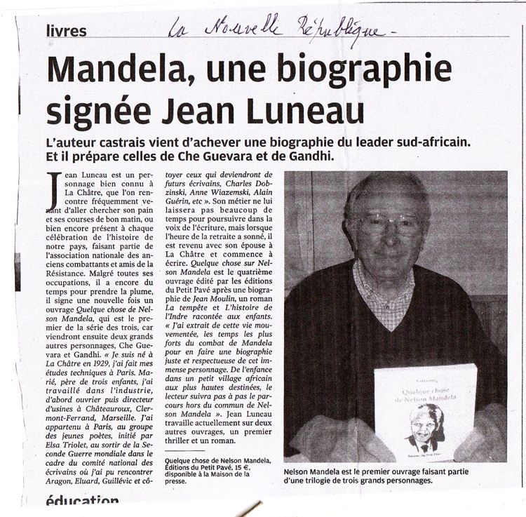 Mandela, une biographie sign�e Jean Luneau - Photo art-mandela.jpg