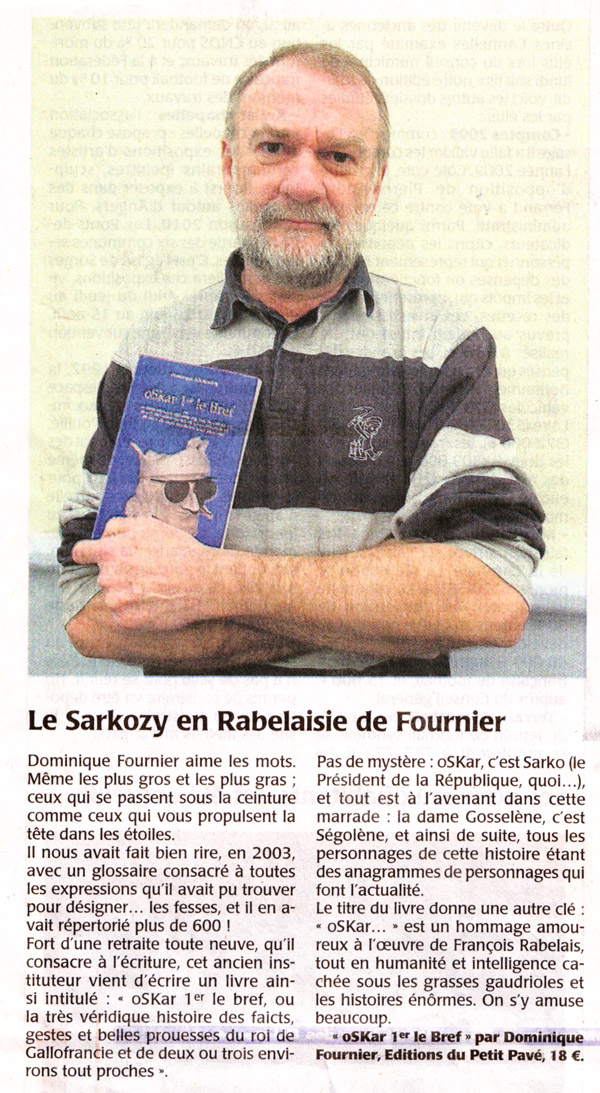 Le Sarkozy en Rabelaisie de Fournier - Photo art-oskar.jpg