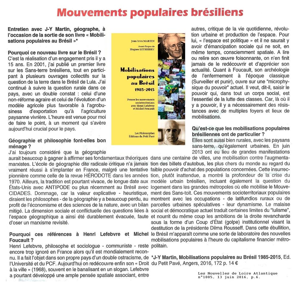 Mobilisations populaires au Br�sil - 1985 -2015 - Photo mouv_pop_bres_nla_n1005_1000.jpg
